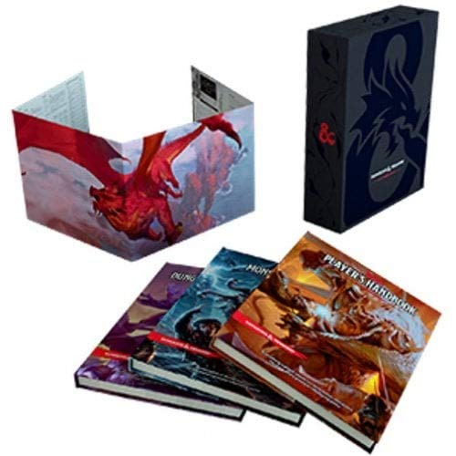 - Dungeons and Dragons RPG: Core Rulebook Gift Set