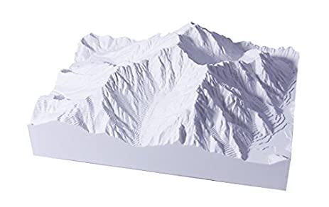 1 50 000 Scale Precision Model Mountain Mountains North Alps Series No02 Hotakadake