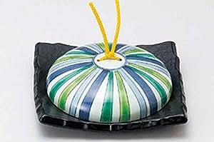 Tokusa 6.8inch Set of 5 Japanese Hot Pots Black Ceramic Made in Japan
