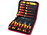 insulated tool set - 11pcs VDE Insulated Hand Tools Pliers Cable Stripper Screwdrivers Set