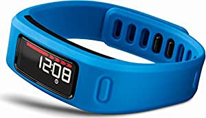 Garmin vívofit Fitness Band - Blue Bundle (Includes Heart Rate Monitor)
