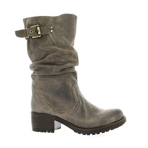 Noir40 Velours Pao Boots Pao Cuir Velours Boots Cuir iOPuXkZ
