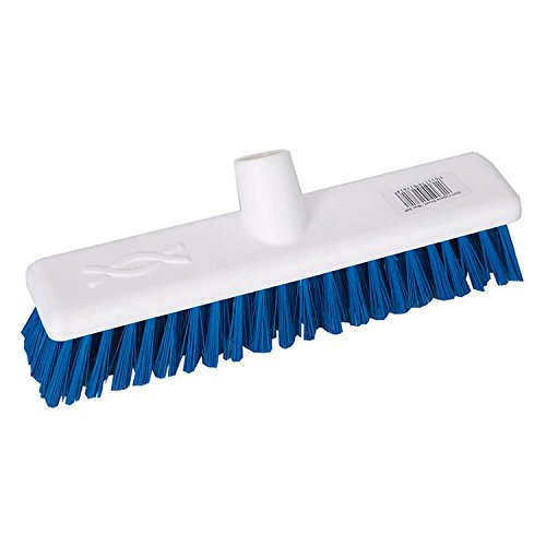 Robert Scott & Sons Abbey Hygiene Broom Head Hard Washable 12in Blue 102903BLUE Robert Scott and Sons