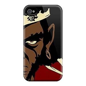Defender Case For Iphone 4/4s, Afro Samurai Pattern
