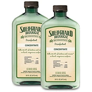 Melaleuca sol u guard botanical 2x disinfectant 16oz 2 pack home kitchen for Cleanwell botanical disinfectant bathroom cleaner