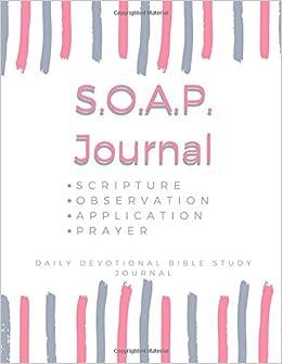 soap bible study journal