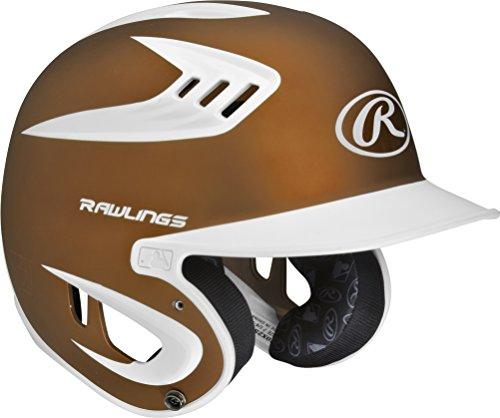 Coolflo Batters Helmet - Rawlings S80X2S 2-Tone Sr 80 MPH Helmet