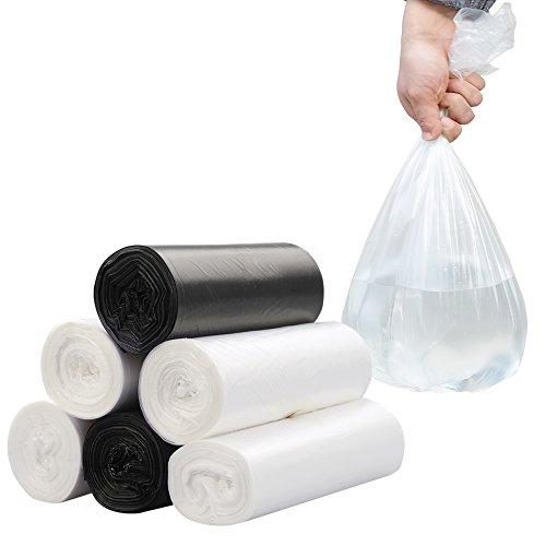 5 Gallon Clear Trash Bags - 6