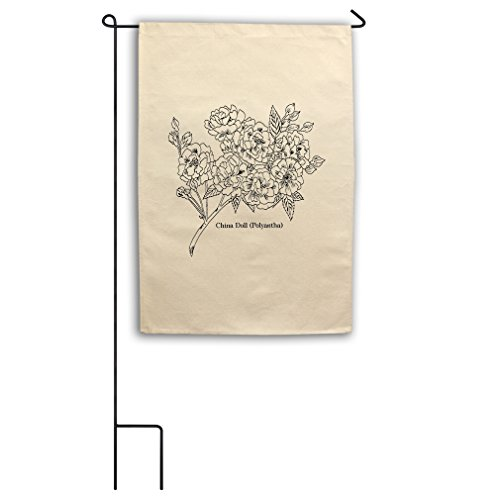 Style in Print Color Your China Doll Color-In Design Canvas