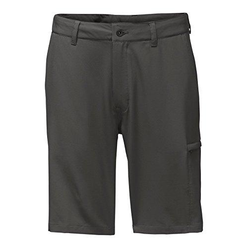 Grey Asphalt Shorts - The North Face Men's Rolling Sun Hybrid Shorts - 10