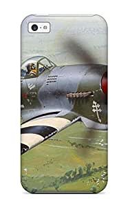 Case Cover Aircraft Military Man Made Military/ Fashionable Case For Iphone 5c