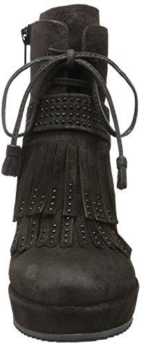 Zinda Gris Carbón para Mujer Botines Grau 2470 rfCqr