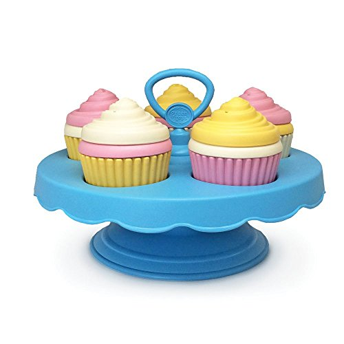 Green Toys Cupcake Set (Little Cupcake Kitchen compare prices)