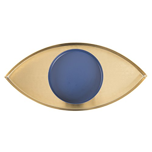 The Eye Metal Tray (Blue and Gold)