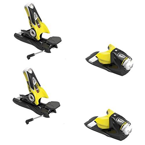 Rossignol Look SPX 12 Dual WTR B120: Ski Bindings (Black/Yellow, One Size)