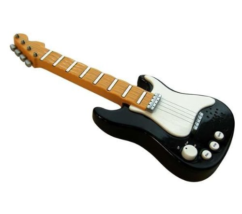 Rockstar Mini Electric Finger Guitar Electronic Musical Toy