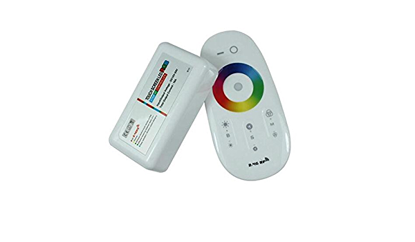 RGB Controller Touch Remote Control RGB graze it this way to Stripes and lights