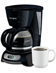 Mr Coffee Tf5 Np 4 Cup Switch Coffeemaker Black