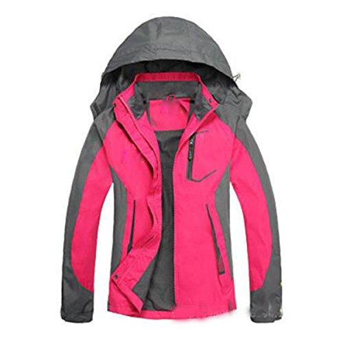 Grandi Lai Rosered Sottile Corrente Antivento Di Alpinismo Lady Giacche Outdoor Impermeabile Dimensioni Sportswear Wu Fxq8Cw8