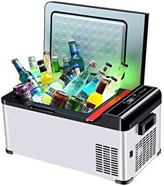 Weiaxminibx カー冷蔵庫、コンプレッサー冷凍、ミニ小型車ホーム冷蔵庫12V / 24V、車冷凍庫、限り低く-25℃