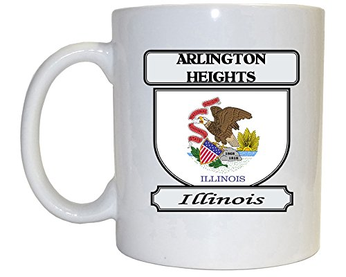 Arlington Heights, Illinois (IL) City Mug (City Of Arlington Heights Il)
