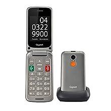 "Gigaset Gl590 Grey Easy Phone Clamshell 2.8"" Dual Sim"