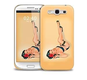 pinupgirl 1 Samsung Galaxy S3 GS3 protective phone case