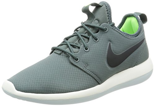 Nike Mens Roshe Twee 2 Se Hasta / Antraciet-ghost Green 859543-300 Shoe