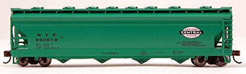 Bachmann Industries NYC ACF 4-Bay Center-Flow Hopper Car (N Scale), (Center Flow Hopper Car)