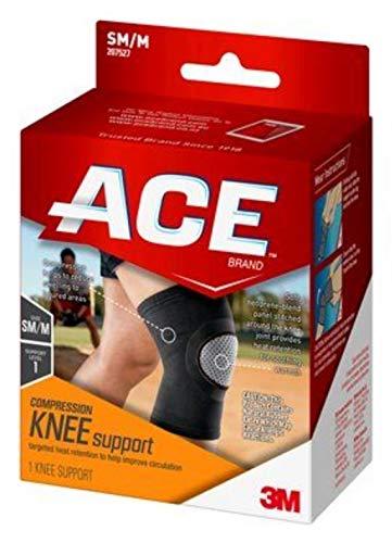 Neoprene Brace Knee Ace - Ace brand elasto-preene knee brace Small / Medium, # 207527 - 1 ea by Ace