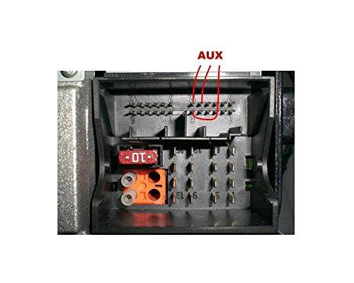 MERCEDES cavo adattatore BLUETOOTH AUX per impianto Radio e di navigazione satellitare 20 30 50 Comand APS