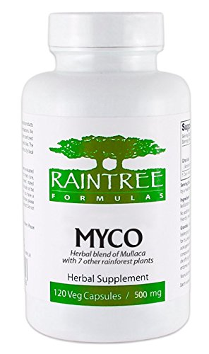 Raintree Formulas Myco Capsules 650mg 120 Veg Caps