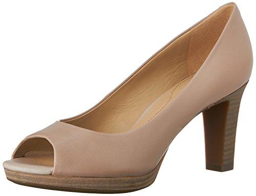 Lana Con A Tacón lt Mujer Zapatos Taupec6738 D Beige De Para Geox Punta Cerrada AX5qYxE