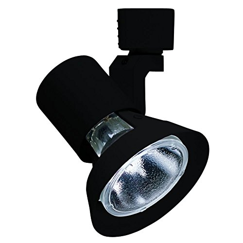 Modern Track Light Head in Black Finish (Juno Black Finish)