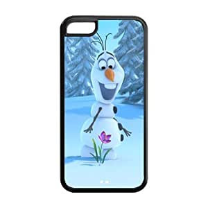 Frozen Solid Rubber Customized Cover Case for iPhone 5c 5c-linda581