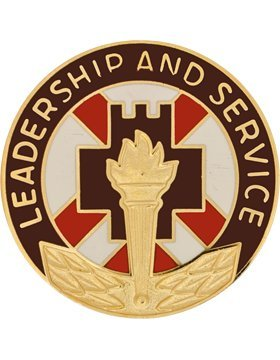 Group Unit Crest (5th Medical Group Unit Crest (Leadership And Service))