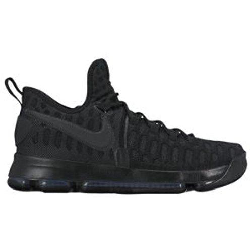 NIKE Mens Zoom KD9 Elite Basketball Shoe Black/Black Anthracite R30iO