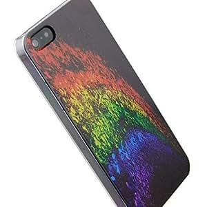 TL VORMOR? Colorful Starry Sky Embossment Back Case for iPhone 4/4S