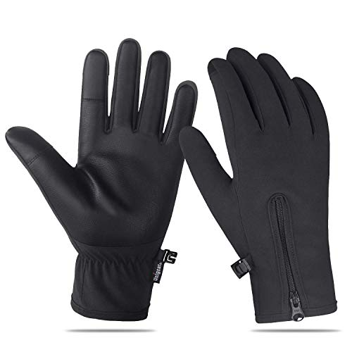Unigear Winter Gloves, Outdoor Waterproof Touch Screen Gloves for Walking, Cycling, Ridding, Running and Driving for Men & Women