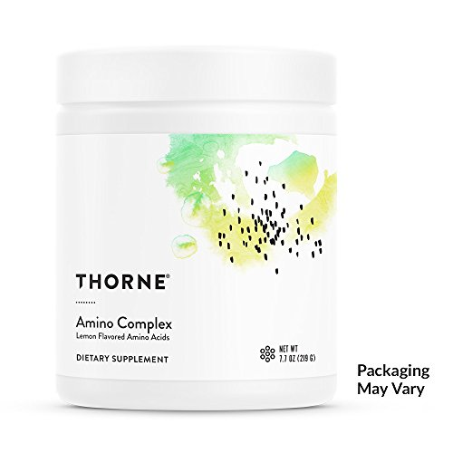 Thorne Research - Amino Complex - BCAA Powder for Sports Performance - Lemon Flavor - 7.7 oz