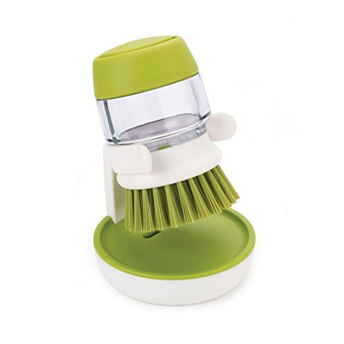 CTKcom Pot Brush Soap Dispensing Dish Palm Brush,Dish Bru...
