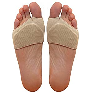 Medipaq® Metatarsal Gel Cushion - Relieve Ball of Foot Pain (2X Pairs Size 3-7½) 29