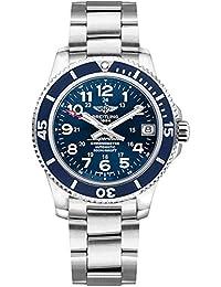 Superocean II 36 Blue Dial Stainless Steel Watch A17312D1/C938-179A