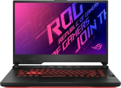 Asus ROG Strix G15 (2020) Core i7 10th Gen – (16 GB/512 GB SSD/Windows 10 Home/4 GB Graphics/NVIDIA Geforce GTX 1650 Ti/144 Hz) G512LI-HN057T Gaming Laptop (15.6 inch, Black Plastic, 2.30 kg)