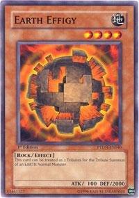 (Yu-Gi-Oh! - Earth Effigy (PTDN-EN040) - Phantom Darkness - 1st Edition - Common)