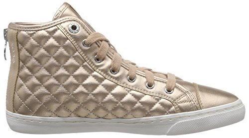 GeoxD NEW CLUB A - Zapatillas Mujer Gold (SKINC8182)