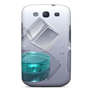 Galaxy S3 Case, Premium Protective Case With Awesome Look - Ice 52
