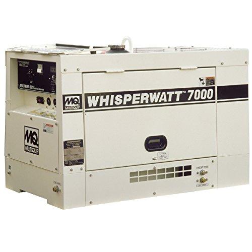 (Multiquip DA7000SSA2 Kubota Diesel Generator, 7kW,)