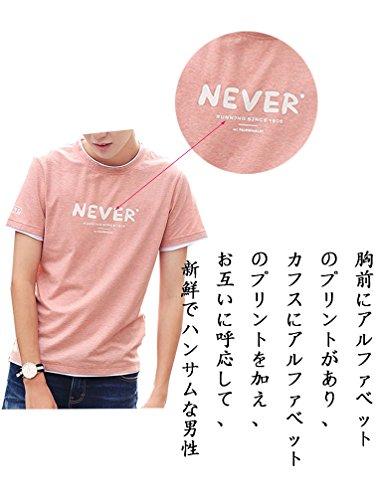 シャツ 半袖 メンズ 夏季対応 通気性 薄手 吸汗 トップス TXC151