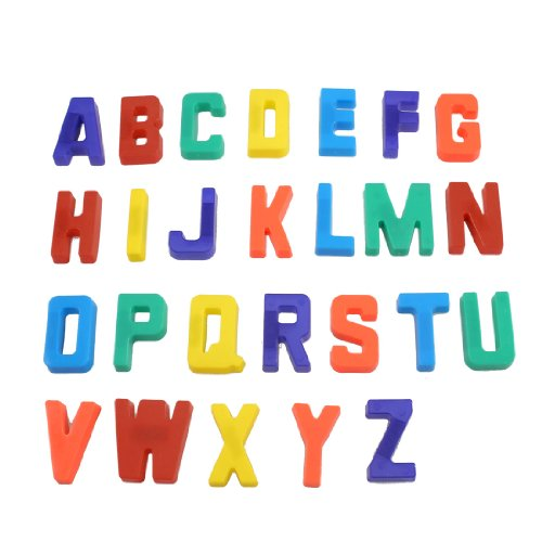 Magnetic Plastic English Alphabet Stickers product image